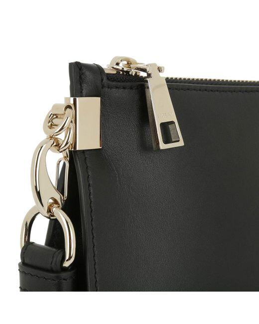 71f42e60e190 Versace Palazzo Cross Body Pochette Black light Gold in Black - Save ...