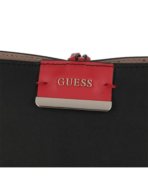 44977f370a2a ... Guess - Bobbi Inside Out Tote Black nude - Lyst ...