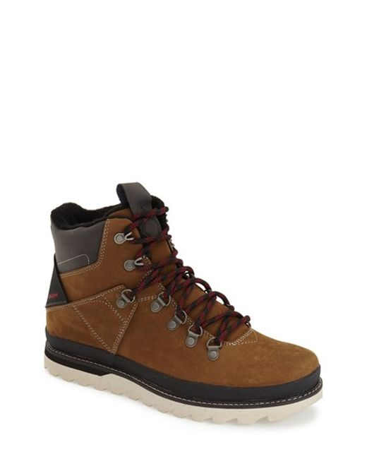 Volcom | Brown 'outlander' Lace-up Boot for Men | Lyst