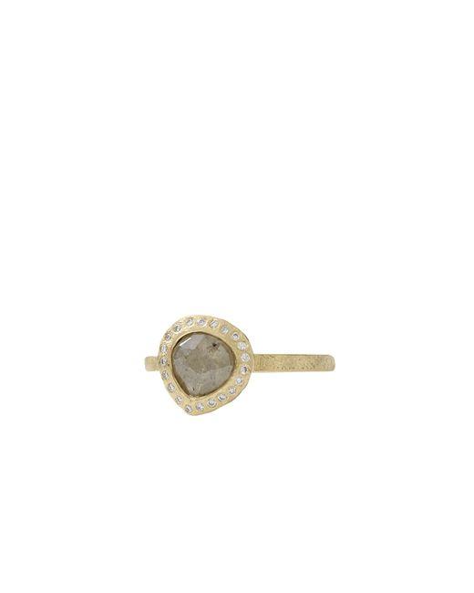 Todd Reed | Green Fancy Cut Pear Shape Diamond Ring | Lyst