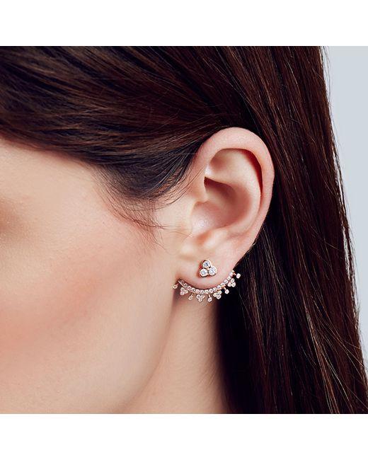 Carbon & Hyde | Metallic Orchid Ear Jacket | Lyst
