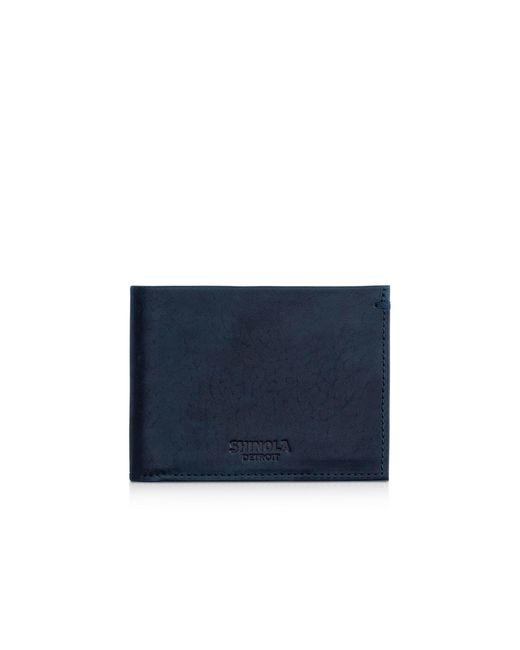 Shinola | Blue Slim Bifold Wallet for Men | Lyst