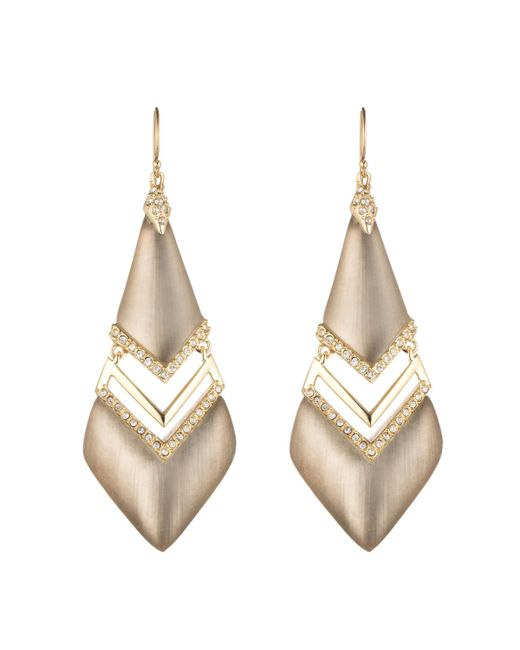 Alexis Bittar | Metallic Phoenix Deco Chevron Drop Earring You Might Also Like | Lyst