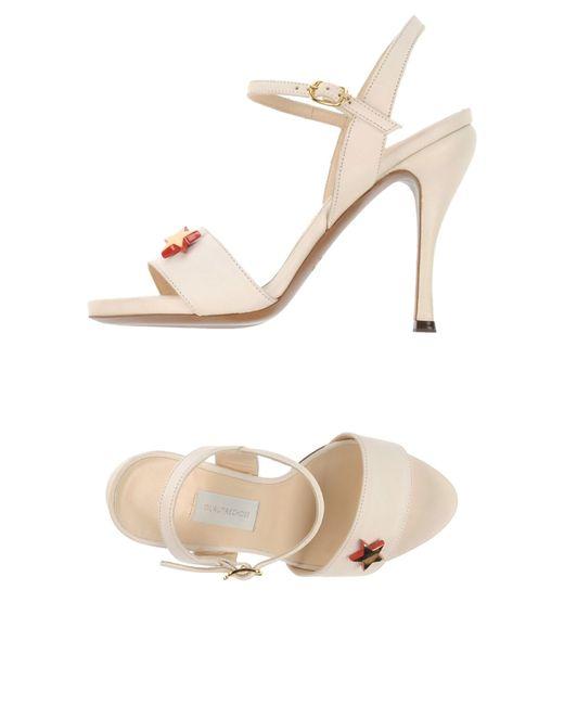 L'Autre Chose   Natural Sandals   Lyst