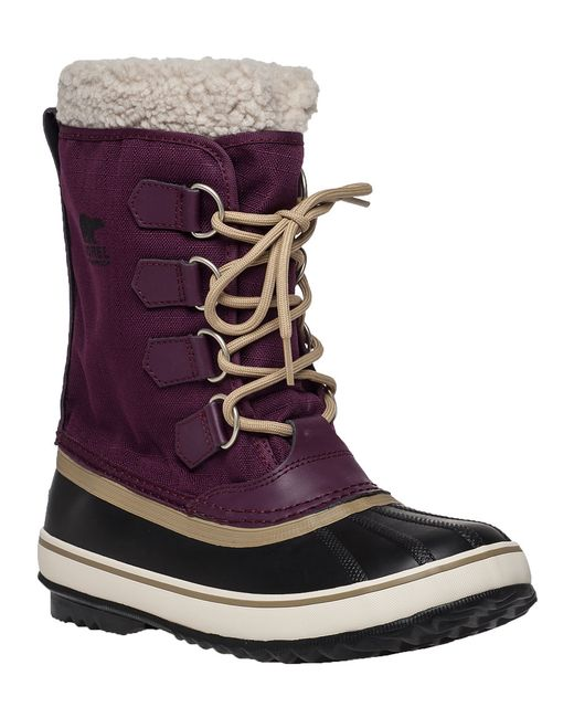 Sorel Winter Carnival Purple Snow Boot In Brown Save 1