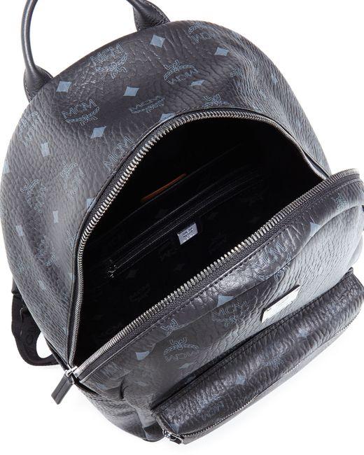 MCM | Metallic Stark Side-stud Mini Backpack | Lyst