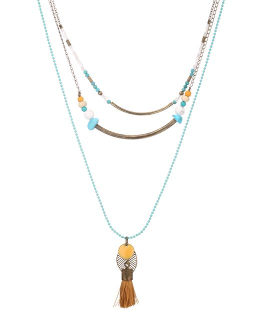 Sessun | Blue Necklace / Longcollar | Lyst
