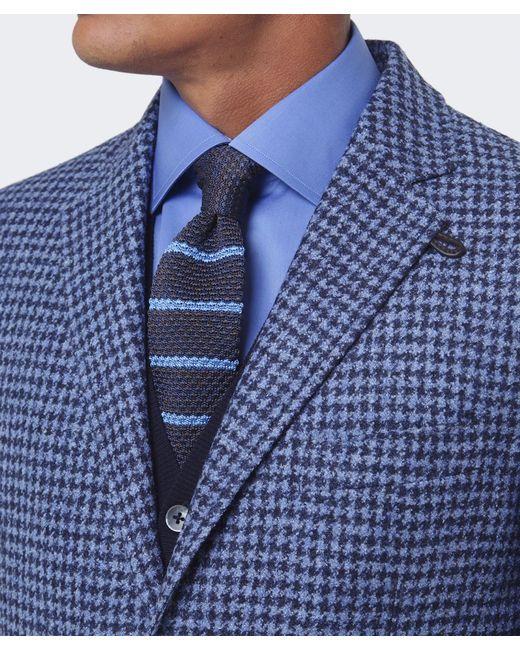 Corneliani | Blue Virgin Wool Jacket for Men | Lyst