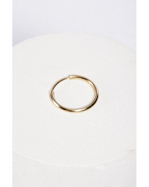 Sorelle | Metallic 14k Alexandra Hoops | Lyst