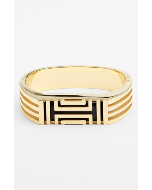Tory Burch | Metallic For Fitbit Hinged Bracelet | Lyst