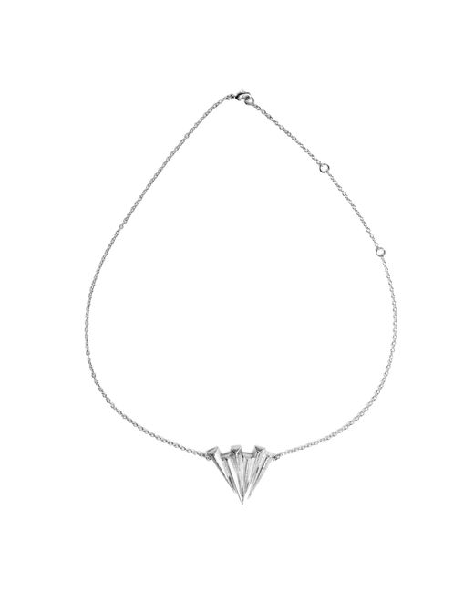 Ona Chan Jewelry | Metallic Six Daggar Necklace Silver | Lyst