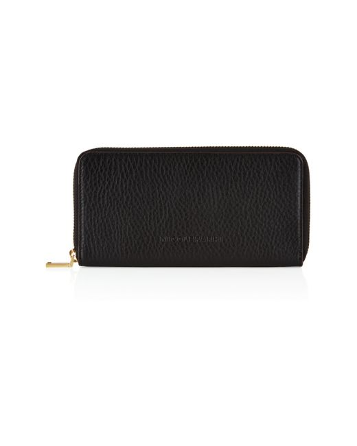 Nicole Farhi | Black Large Bubble Zip Purse | Lyst