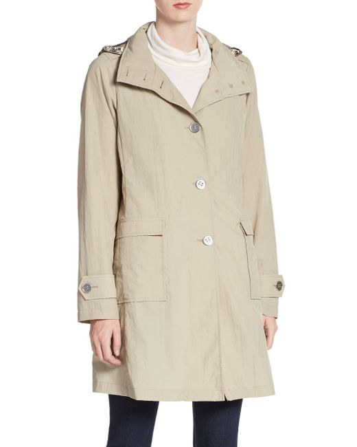Jane Post   Natural A-line Trench Coat   Lyst