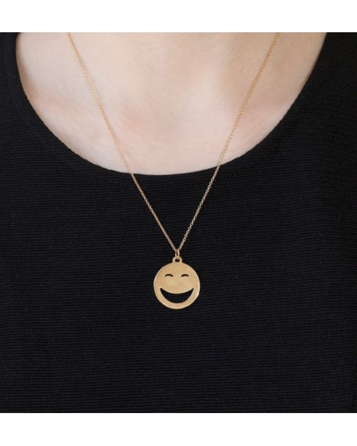 Alison Lou | Metallic 14k Rolling On The Floor Laughing | Lyst
