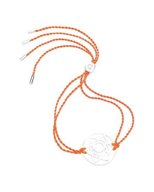 Daisy London | Orange 'sacral Chakra' Cord Bracelet | Lyst