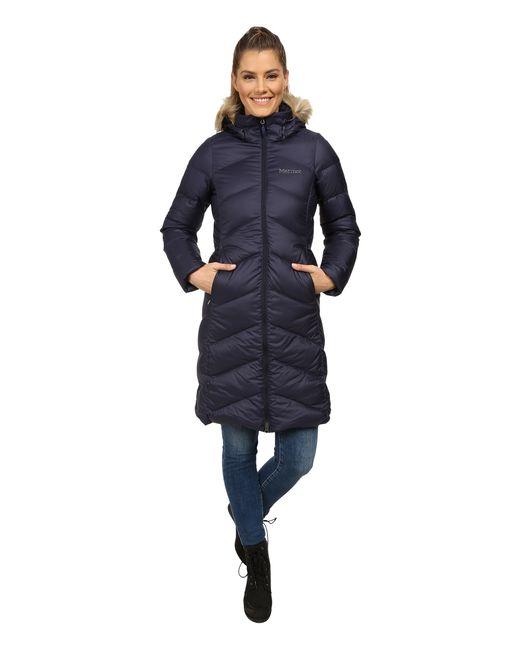 Marmot | Blue Montreaux Coat | Lyst