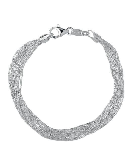 Links of London | Metallic Silk 10 Row Bracelet | Lyst