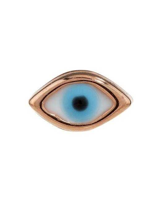 Sydney Evan | Metallic Tiny Evil Eye Single Earring | Lyst