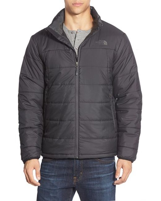 The North Face | Black 'bombay' Quilted Jacket for Men | Lyst