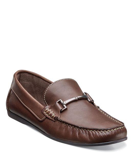 Florsheim | Brown Jasper Leather Bit Loafers for Men | Lyst