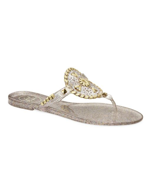 Jack Rogers | Multicolor Sparkle Georgica Jelly | Lyst