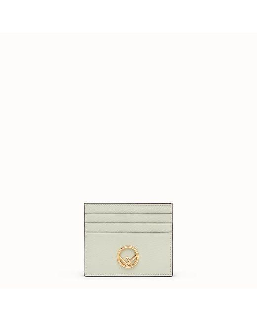 Fendi - Green Card Holder - Lyst