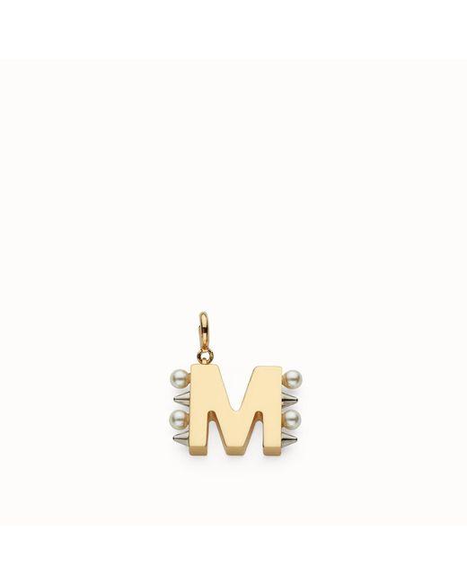 Fendi - Metallic Abchic M - Lyst