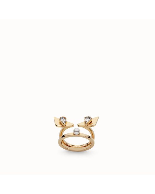 Fendi - Multicolor Ring Ring - Lyst