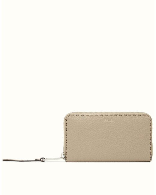 Fendi - Natural Wallet Wallet - Lyst