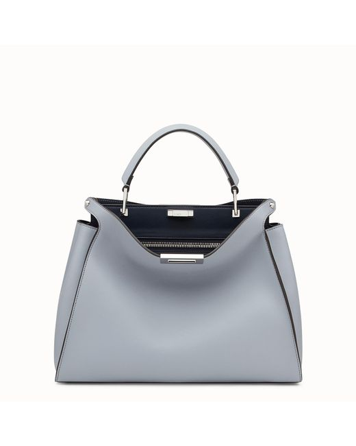 Fendi - Gray Peekaboo Essential - Lyst