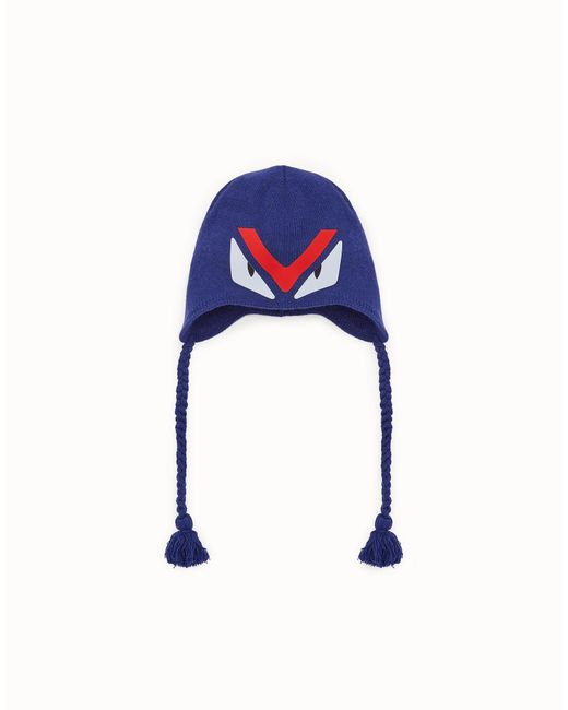 Fendi - Blue Hat Hat for Men - Lyst
