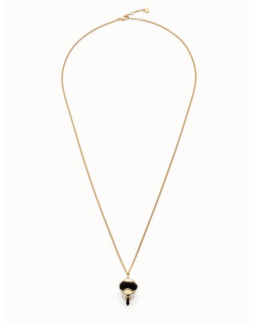 Fendi - Metallic Karlito Necklace - Lyst