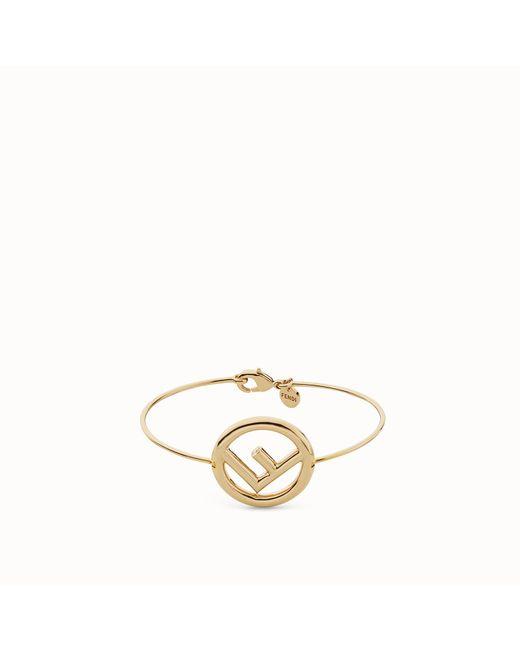 Fendi - Metallic F Is Bracelet F Is Bracelet - Lyst