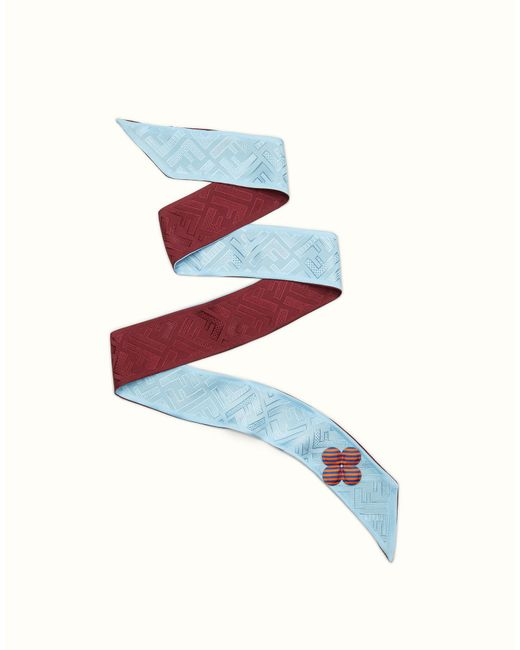 Fendi - Blue Color-block Wrappy Color-block Wrappy - Lyst