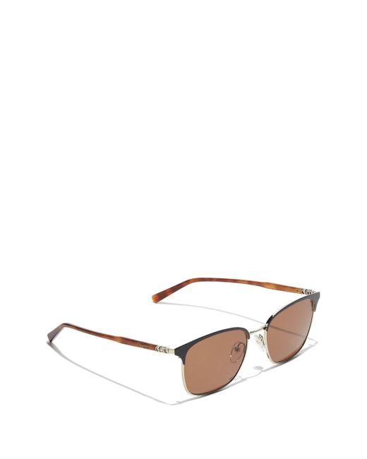 Ferragamo - Metallic Sunglasses for Men - Lyst