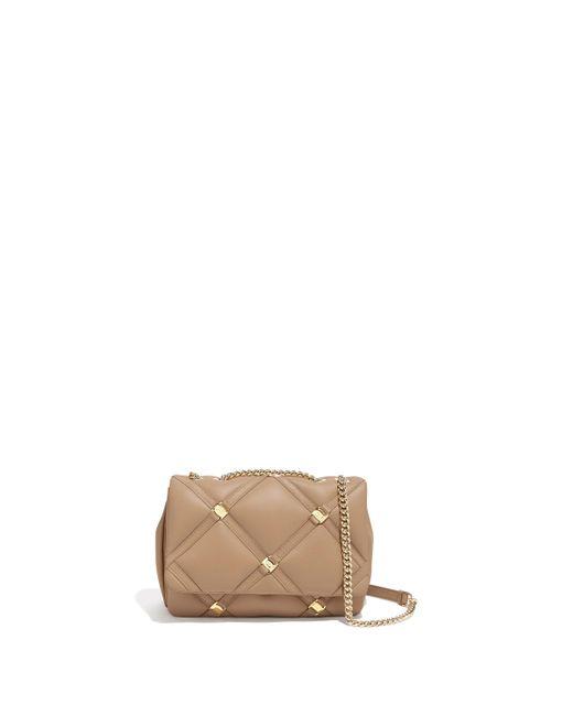 e957ca4630f6 ... Ferragamo - Natural Vara Chain Flap Bag - Lyst ...