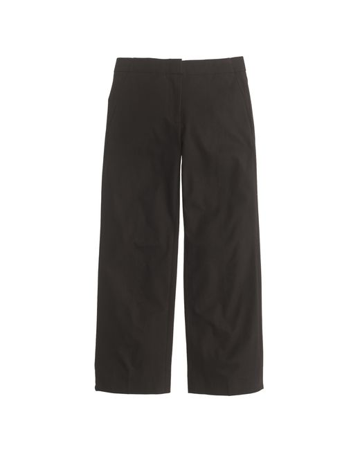 J.Crew | Black Patio Pant In Bi-stretch Cotton | Lyst