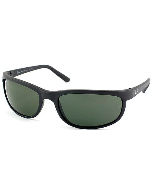 1c395e337bb6 Ray-ban Rb 2027 W1847 Matte Black Rectangle Plastic Sunglasses in Black |  Lyst