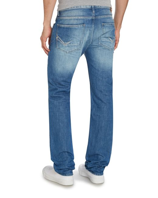 Duck and cover Light Wash Mid Rise Jeans in Blue for Men ...