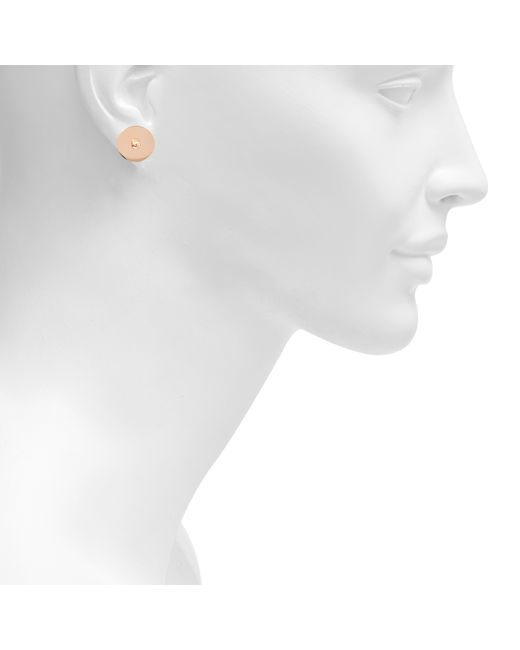 Ginette NY | Metallic Inside Out Disc Earrings | Lyst