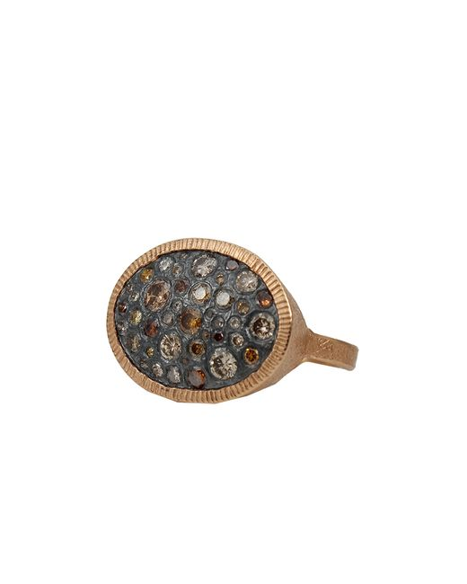 Todd Reed | Brown Autumn Diamond Pave Oval Ring | Lyst
