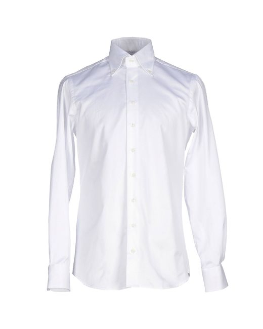 Aglini | Natural Shirt for Men | Lyst