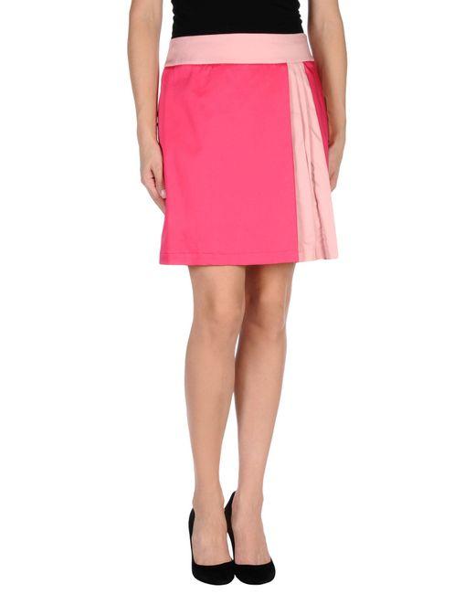 Love moschino Mini Skirt in Purple