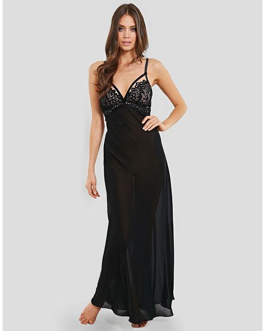 Dita Von Teese - Black Dahlia Long Nightgown - Lyst
