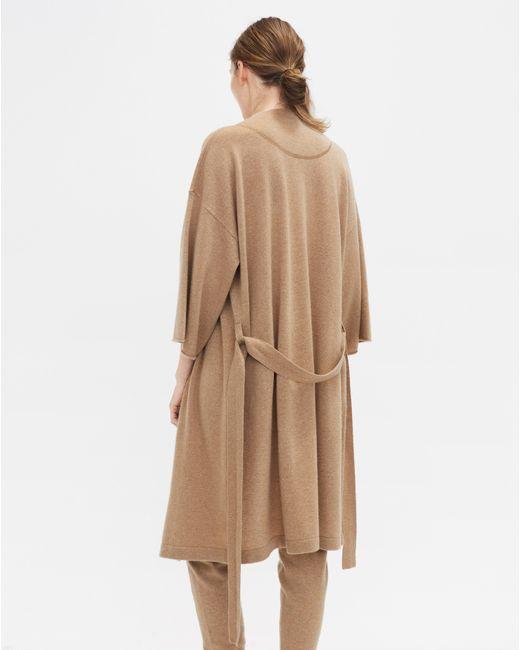 Filippa K - Natural Cashmere Kimono Camel Melange - Lyst