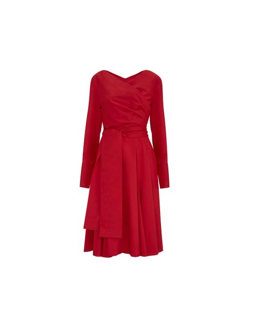 Finery London - Red Streatley Dress - Lyst