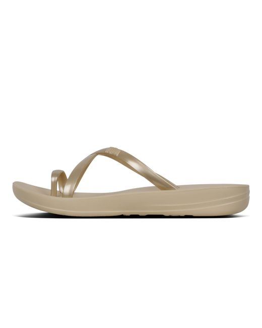 1776fe847d8 Fitflop - Metallic Iqushion - Lyst Fitflop - Metallic Iqushion - Lyst ...