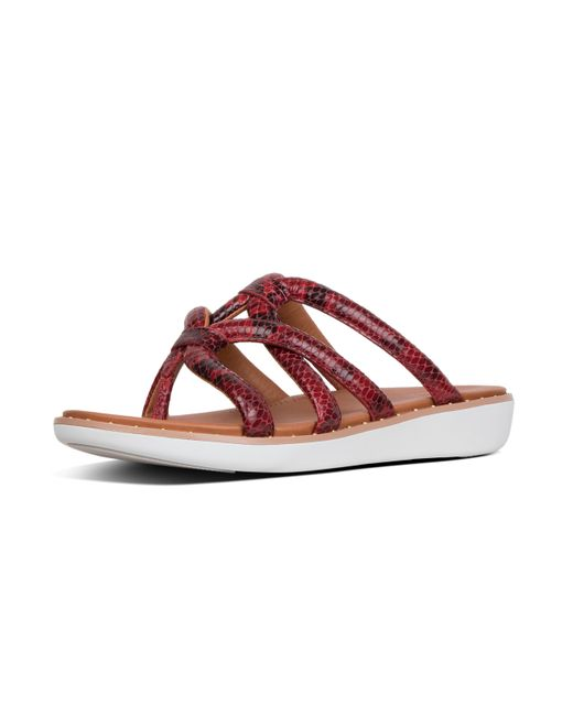 81f3d7bb6102 Fitflop - Red Barely - Lyst ...