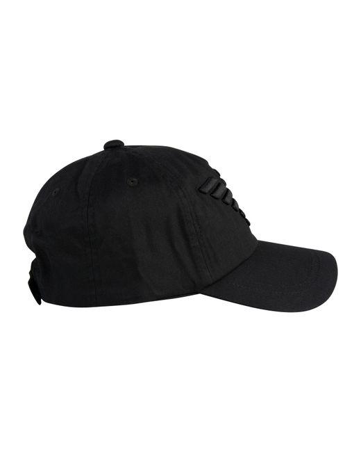 f31383605f0ab Emporio Armani Eagle Cap in Black for Men - Save 22% - Lyst