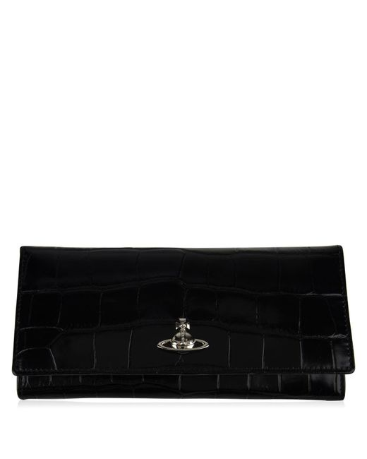 73cdcf558c Vivienne Westwood - Black Lisa Long Purse - Lyst ...
